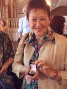 monica arroyo medalla